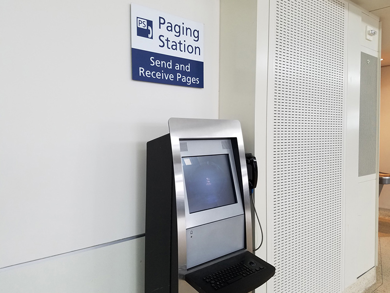 Image of Paging Station
