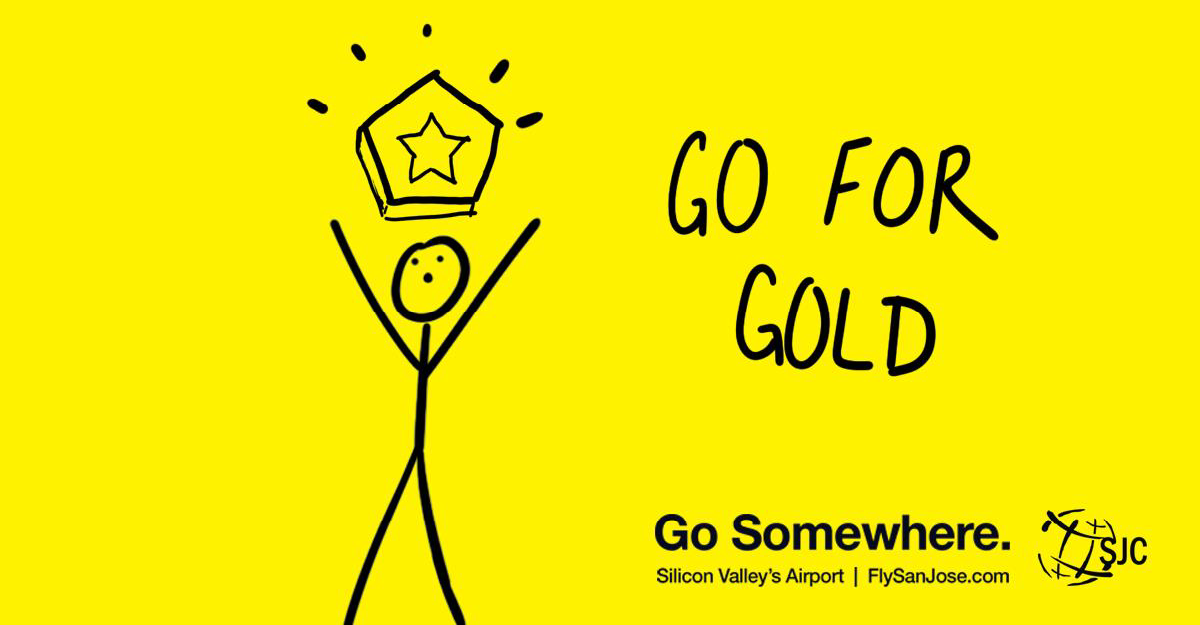 "Image of SJC's Award-Winning ""Go Somewhere"" Ads"