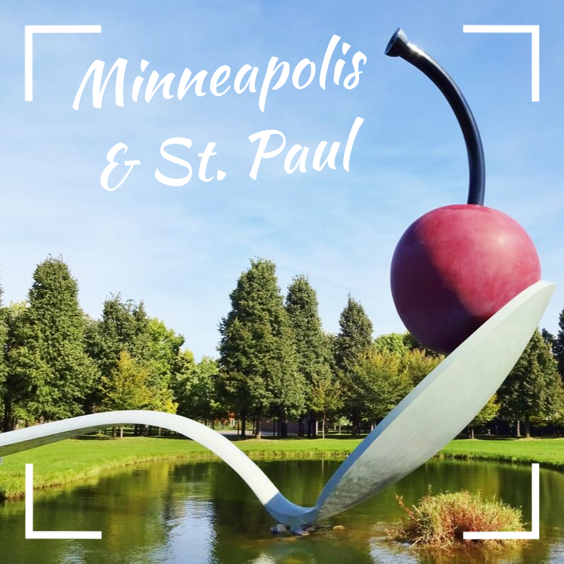 Image of Minneapolis and St. Paul