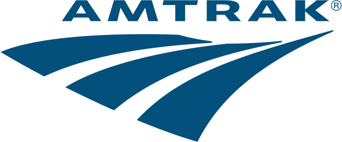 Logo of Amtrak
